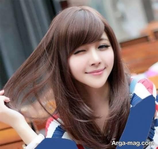 مدل مو دخترانه کره ای جذاب