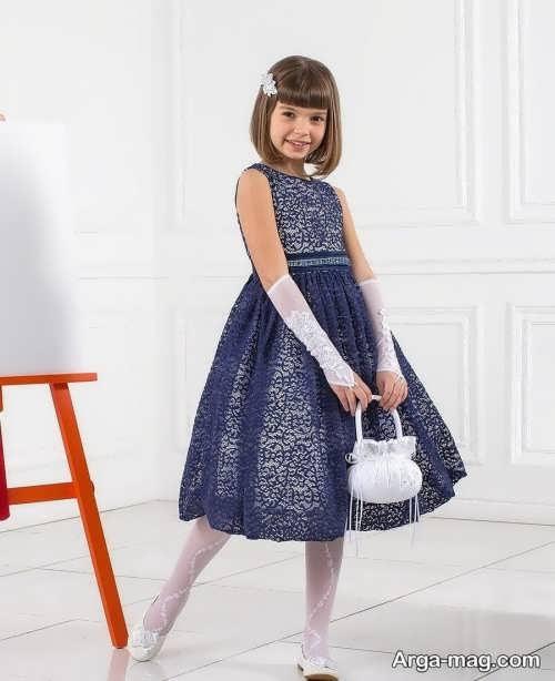 لباس مجلسی بچه گانه لمه دموست داشتنی
