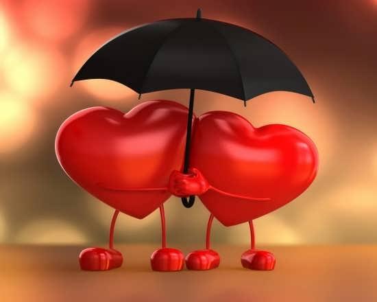 عکس قلب با تصویری زیبا برای پروفایل