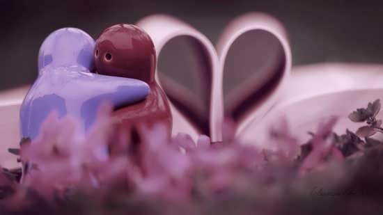 عکس قلبی عاشقانه برای پروفایل