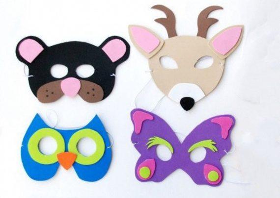 ساخت ماسک حیوانات کودکانه