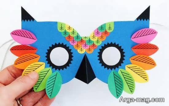 ساخت ماسک حیوانات برای کودکان