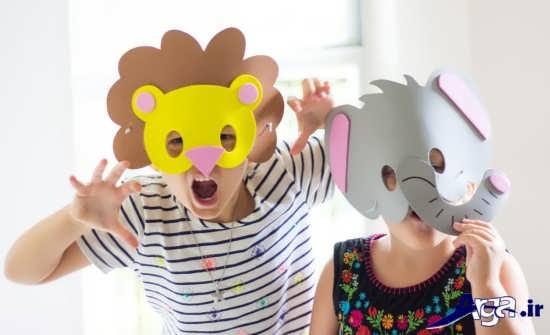 مدل ماسک حیوانات جالب
