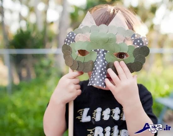 ساخت ماسک حیوانات بامزه