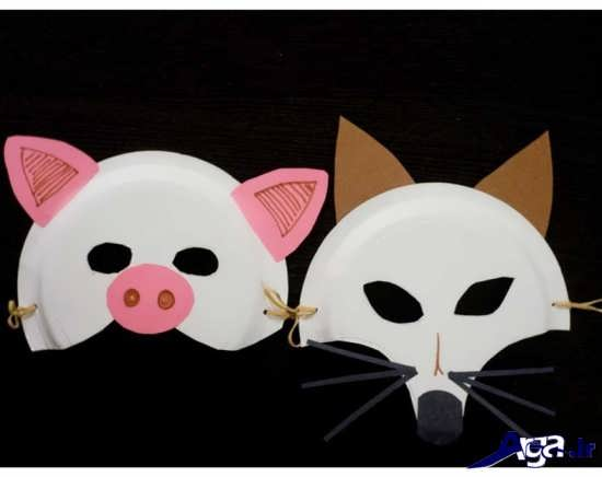 آموزش ساخت ماسک با بشقاب یکبار مصرف
