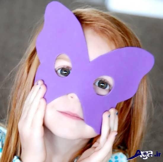 آموزش ساخت ماسک برای کودکان