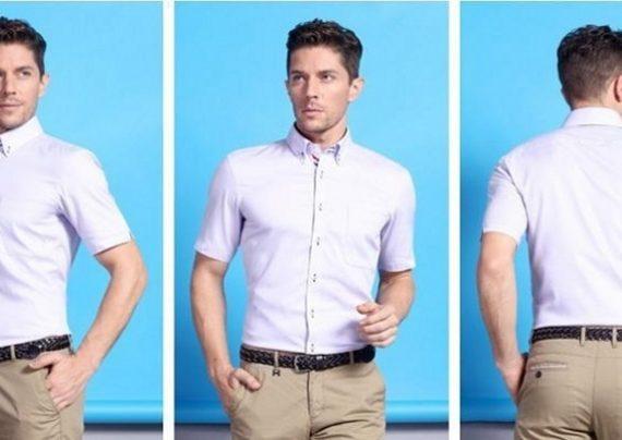 مدل پیراهن استین کوتاه مردانه با جدیدترین طرح های مد سال