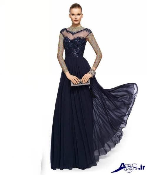 مدل لباس مجلسی لمه بلند