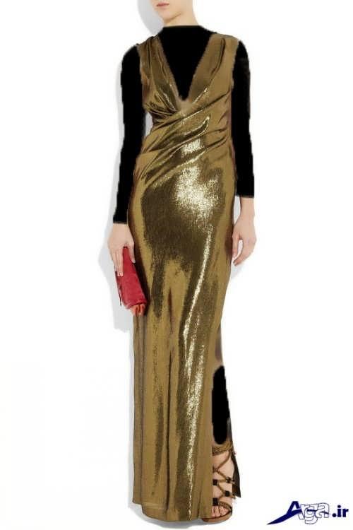 مدل لباس مجلسی براق لمه