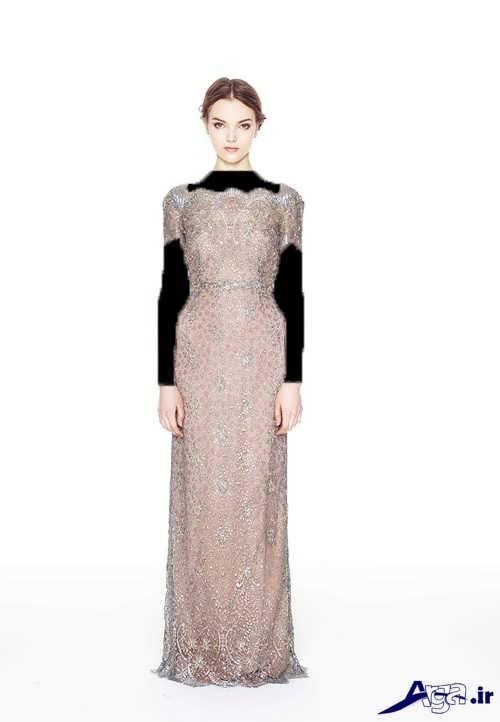 مدل لباس مجلسی زیبا و شیک لمه