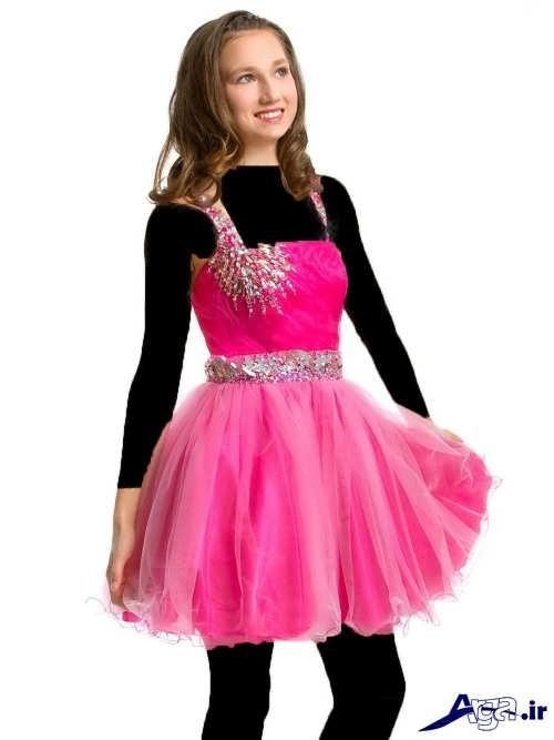 مدل لباس پرنسسی کوتاه نوجوان