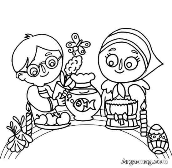 نقاشیهای بی نظیر برای عید نوروز