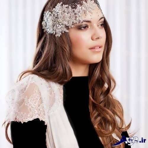 مدل شینیون شیک و زیبا عروس