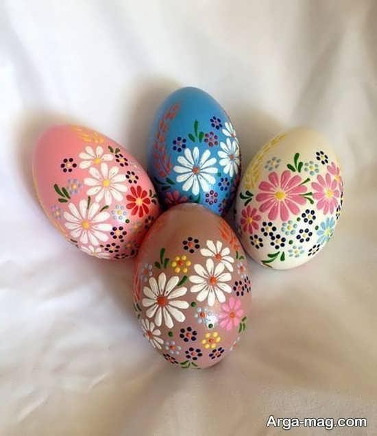 عالی ترین ایده رنگ کردن تخم مرغ