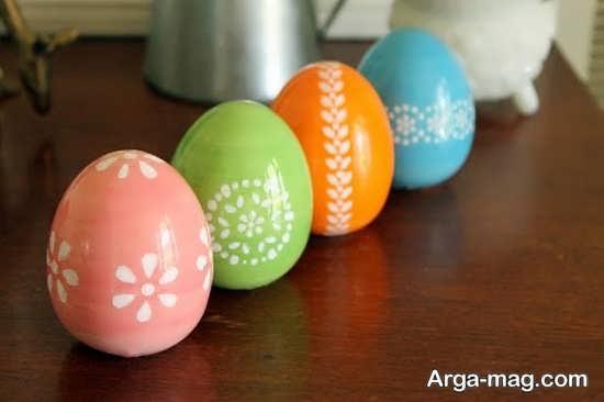 رنگ زدن فوق العاده تخم مرغ هفت سین