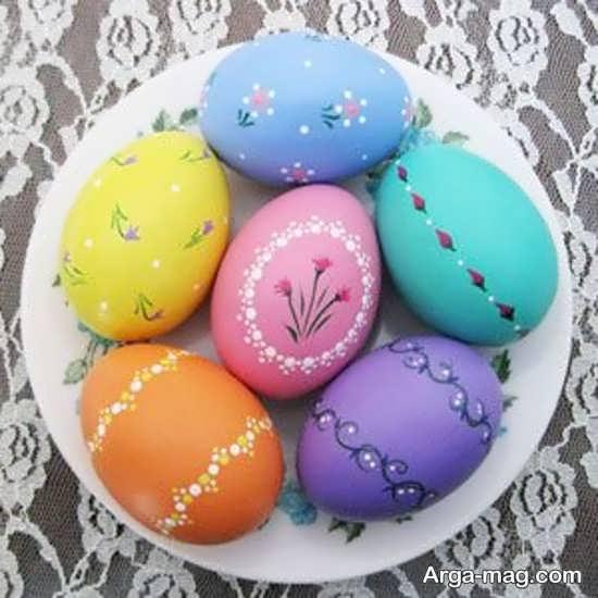 رنگ آمیزی جالب تخم مرغ هفت سین