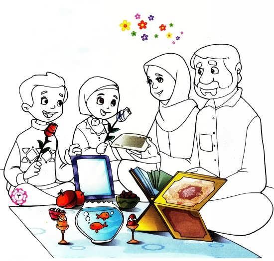 نقاشی 7 سین برای کودکان