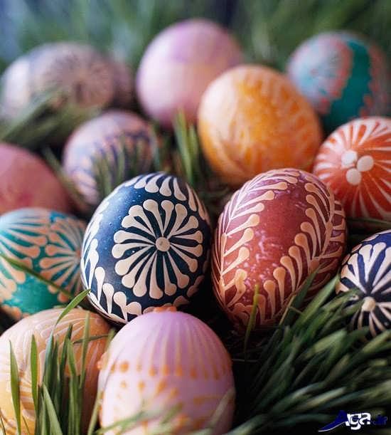 نقاشی روی تخم مرغ