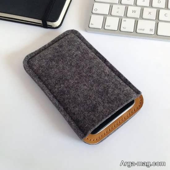 کیفهای قشنگ نمدی برای گوشی