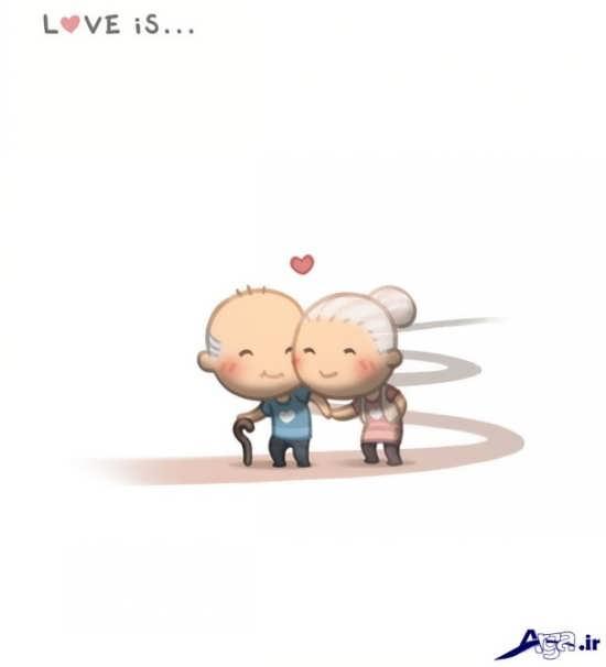 عکس عاشقانه برای همسر وفادار
