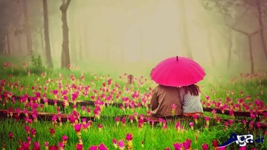 عکس رمانتیک و زیبا برای همسر