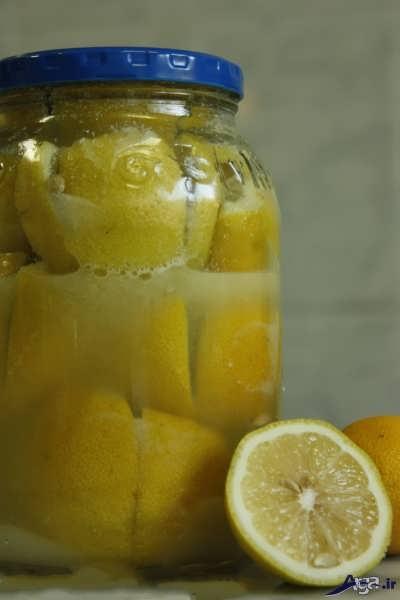 درست کردن ترشی با لیمو ترش