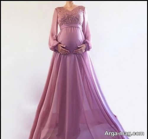لباس شب بارداری سوسنی