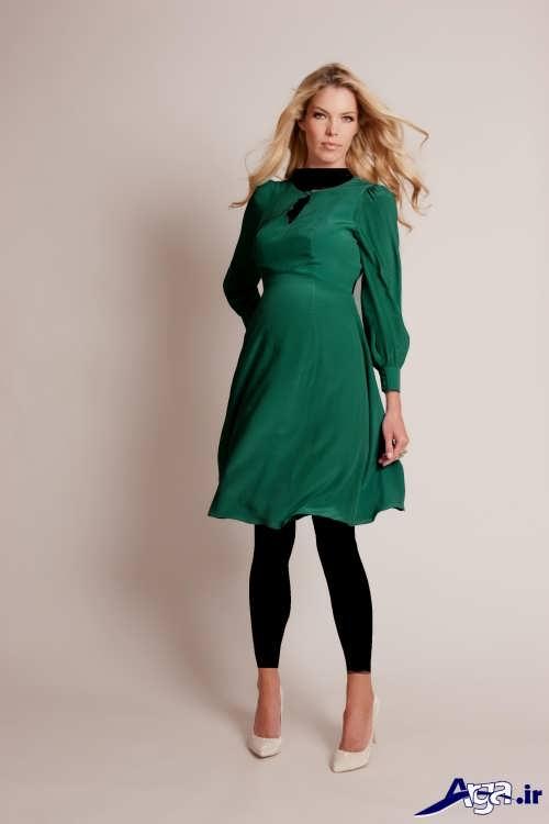 مدل لباس شب سبز