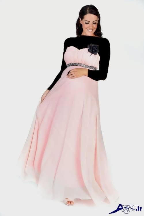 لباس شب ساده و دکلته
