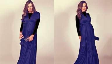 مدل لباس شب بارداری شیک و زیبا