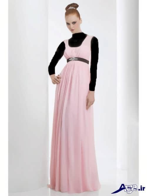 مدل لباس شب بلند بارداری