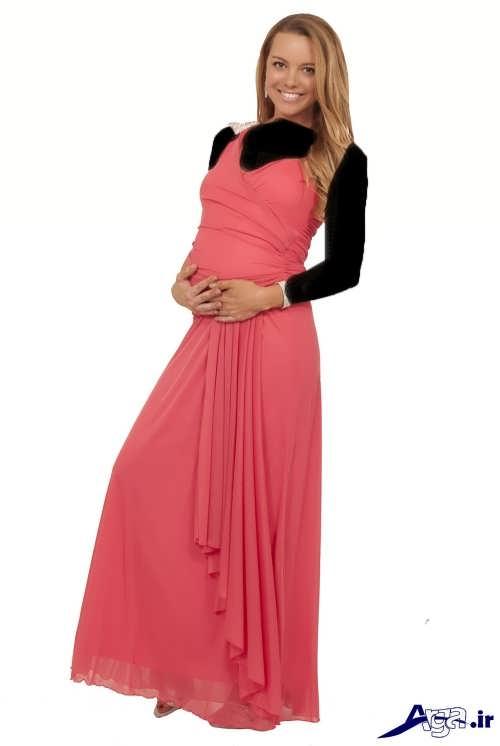 مدل لباس شب شیک و زیبا بارداری