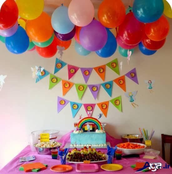 تم جشن تولد زیبا و بسیار شیک