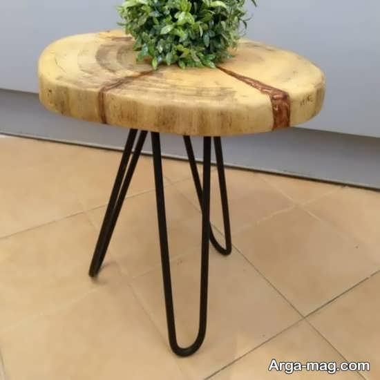 دکوراسیونی جدید با میز و صندلی روستیک