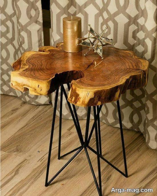 دکوراسیونی مناسب با میز و صندلی روستیک