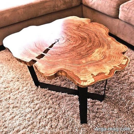 میز و صندلی روستیک برای طراحی متفاوت منزل