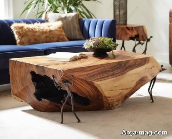 میز و صندلی روستیک برای طراحی دوست داشتنی منزل