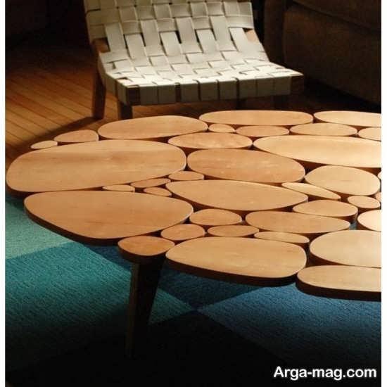 دکوراسیونی فوق العاده با میز و صندلی روستیک