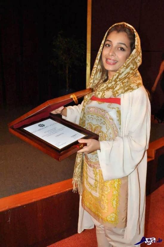 ساره بیات در دبی