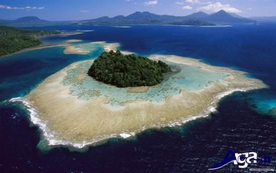 عکس جزیره زیبا
