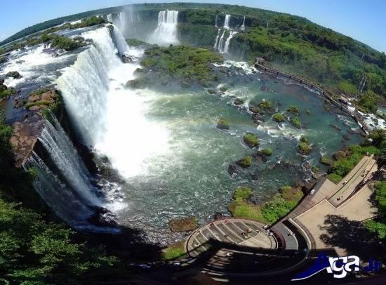 عکس آبشار های شگفت انگیز