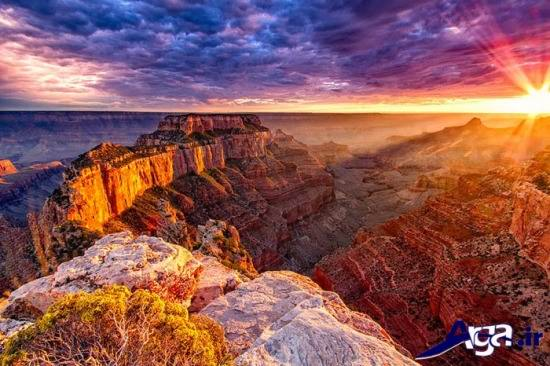 عکس زیبای کویر