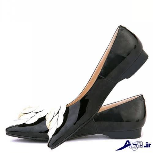 مدل کفش ورنی