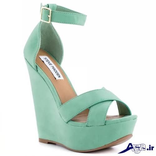 مدل کفش سبز مجلسی 96