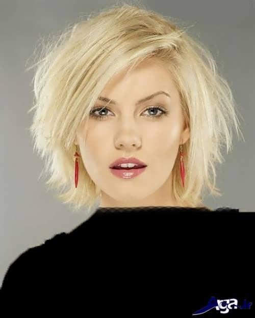 مدل موی زنانه کوتاه برای صورت کشیده