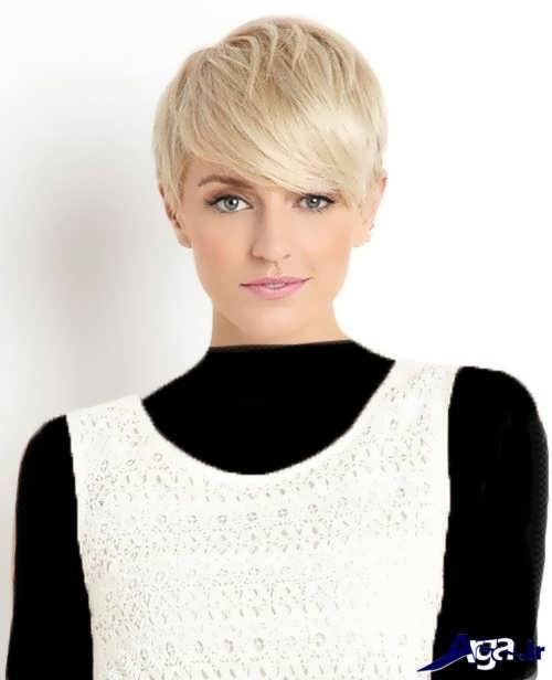 مدل موی کوتاه برای صورت کشیده و لاغر زنانه