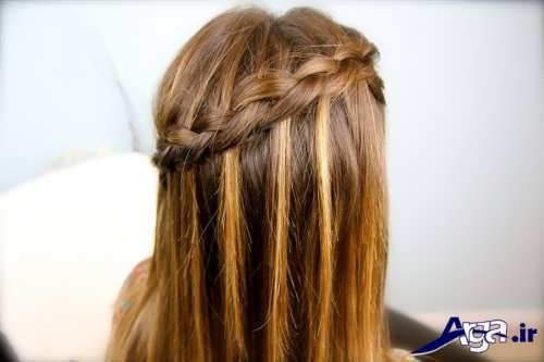 مدل زیبا و جذاب بافت مو