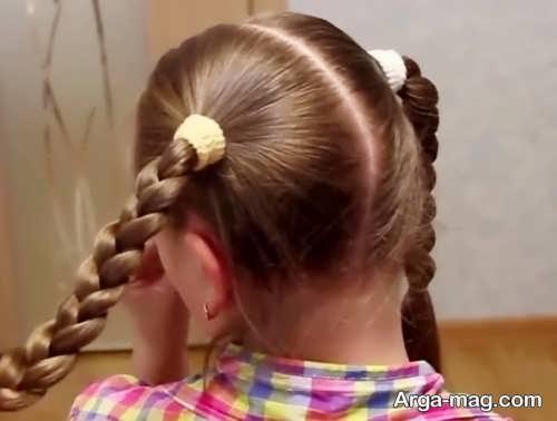 تصاویری از بافت مو ساده