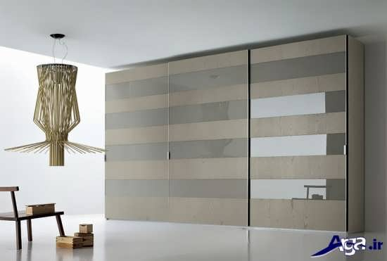 کمد دیواری کشویی در طرحی زیبا و شیک