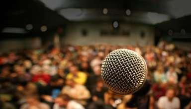 استرس در سخنرانی